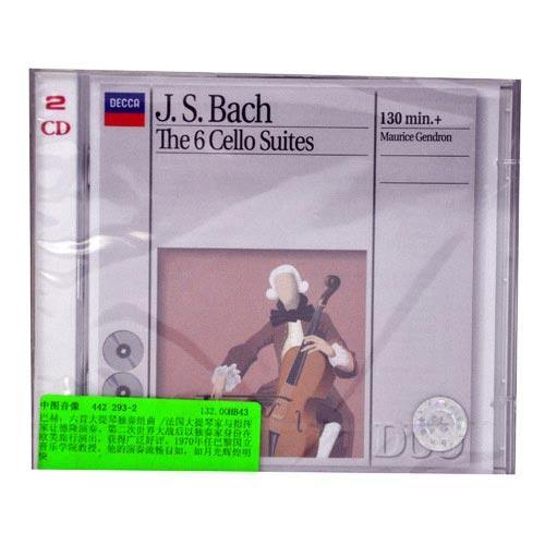 442 293-2巴赫 六首大提琴独奏组曲