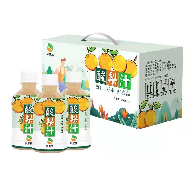 蓟州特产酸梨汁(280ml*8)