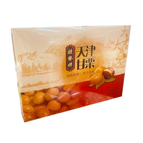 全新桂发祥天津甘栗板栗仁(500g)