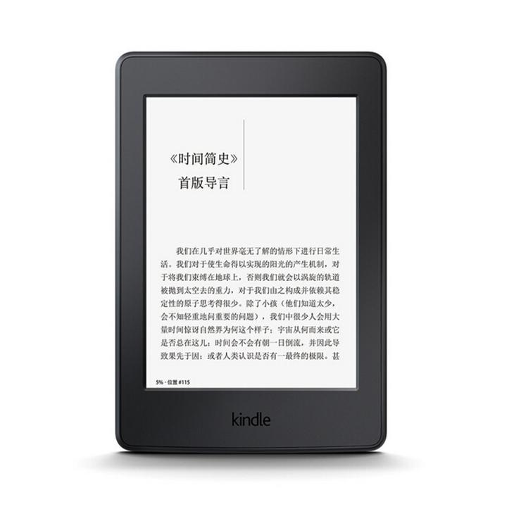 【预售】亚马逊全新Kindle Paperwhite4电子书阅读器8G(黑色)官网单机998元同款