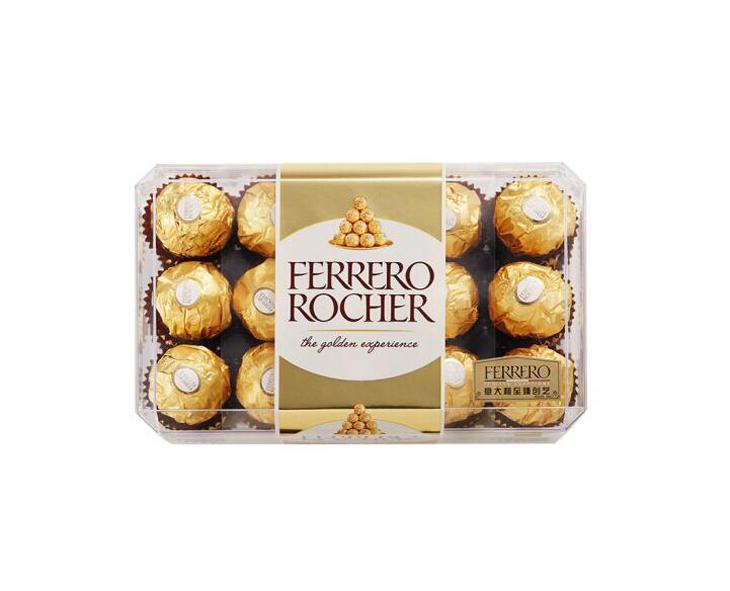 费列罗榛果威化糖果巧克力 金球30粒装