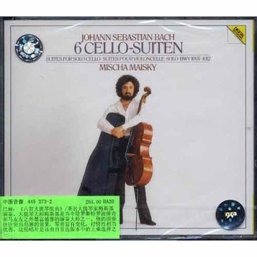 445373-2巴赫:《六首大提琴组曲》
