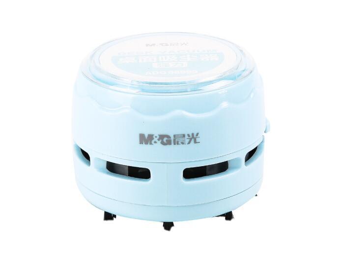 晨光蓝色强力桌面吸尘器