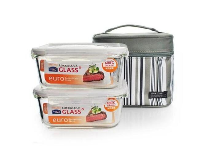 【预售】GlassLock保鲜盒(二件套)GL16