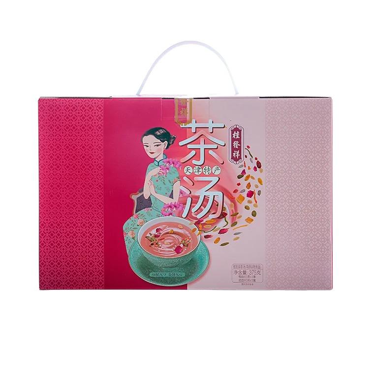 全新桂发祥茶汤(375g)6盒
