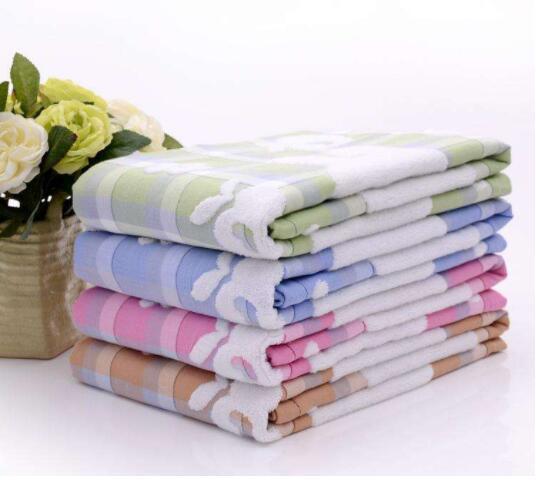 【预售】金号提花缎裆毛巾被(150*200cm)颜色随机发货,介意勿拍!